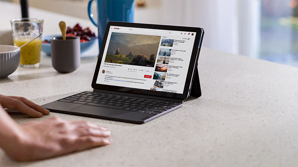 lenovo chromebook duet with keyboard