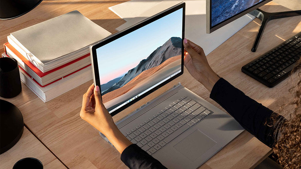 microsoft surface book 3 with keyboard