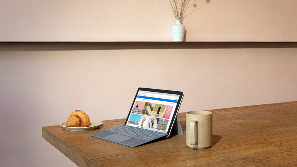 microsoft surface go 2 with keyboard
