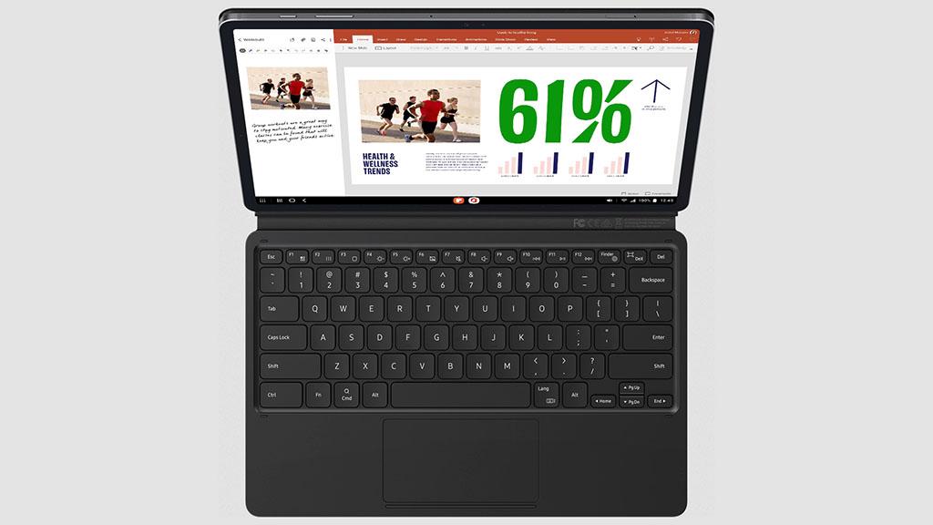samsung galaxy tab s7 plus with keyboard