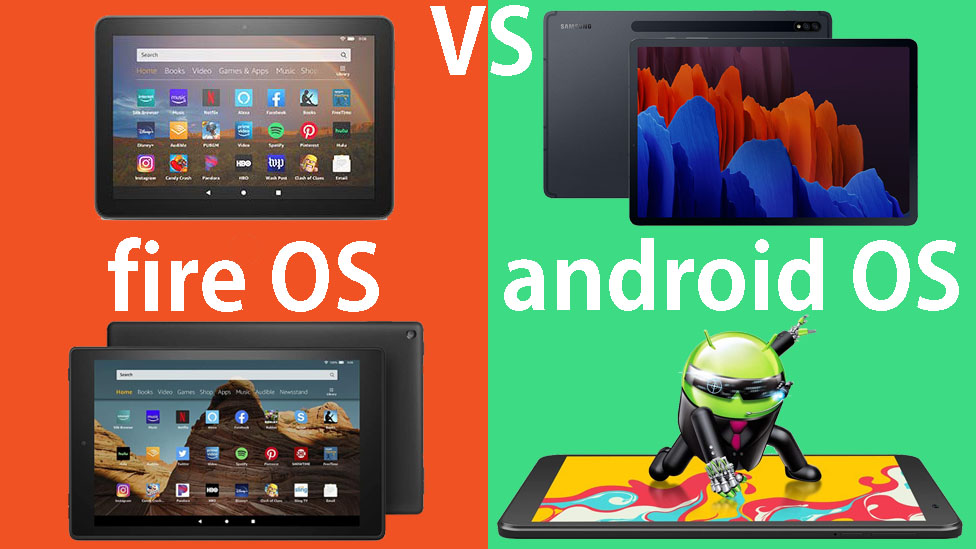 FIre OS vs Android OS