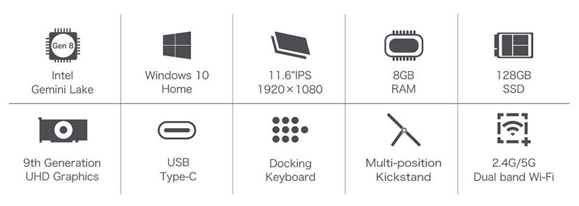 Teclast X4 Features