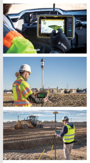 Trimble T7 Tablet For Civil Engineers