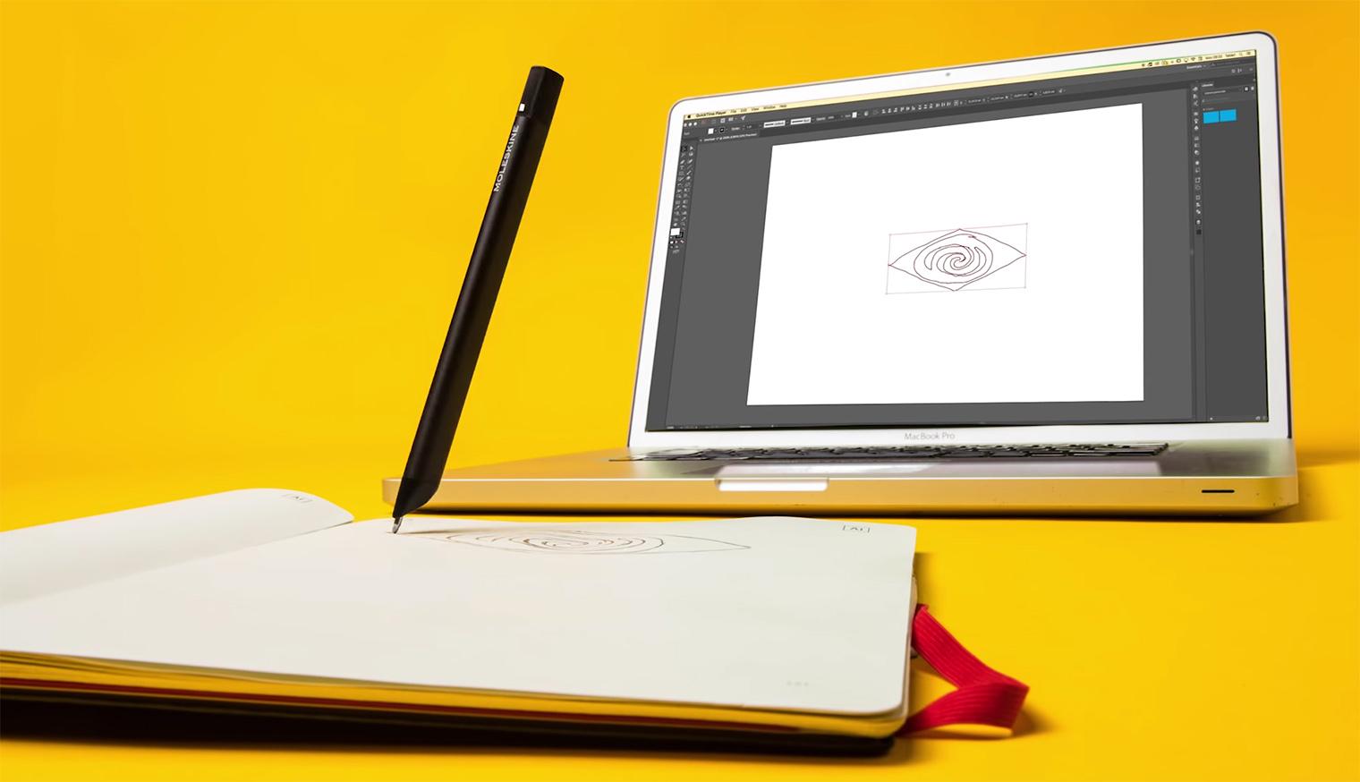 Adobe Creative Cloud Connected Moleskine Paper Tablet