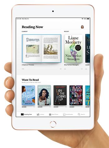 iPad mini 2019 comes with Retina display
