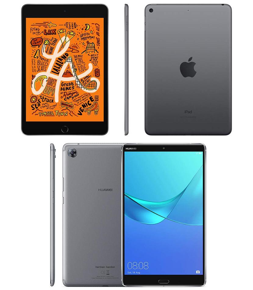 Design of iPad mini 2019 and MediaPad M5 8.4-inch