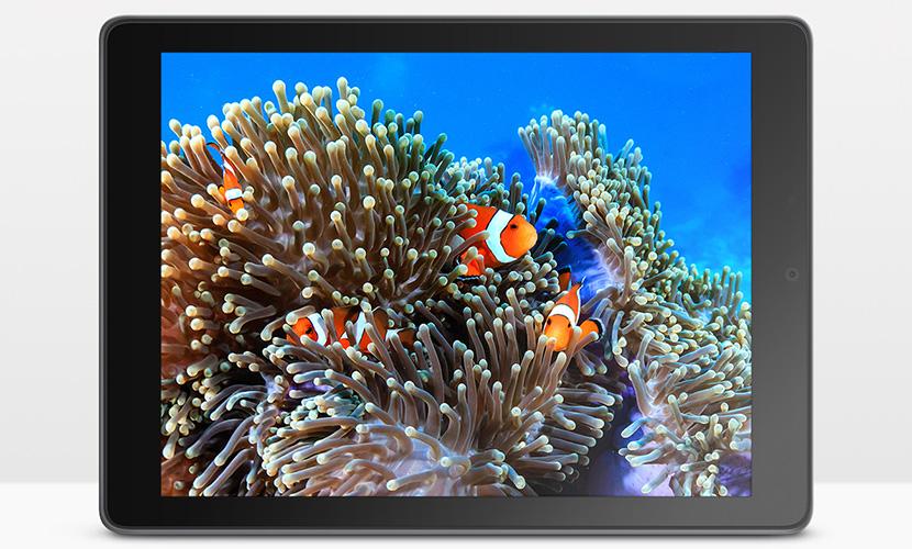 Display of ASUS Chromebook CT100PA tablet
