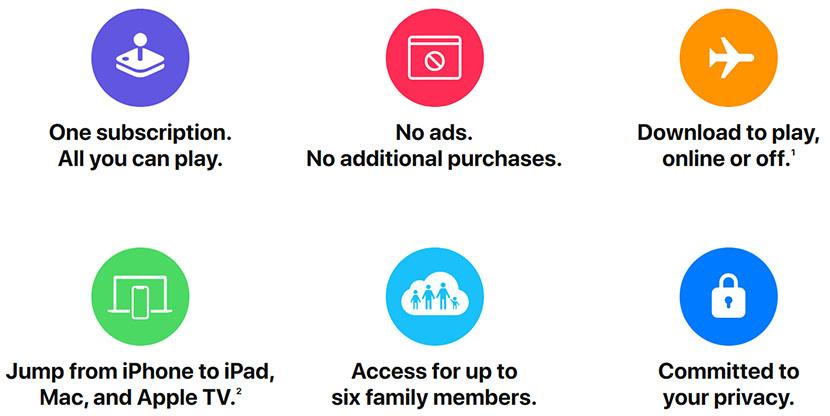 Apple Arcade Features