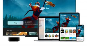 Apple Arcade Game Subscription Service