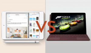 iPad mini vs Surface Go