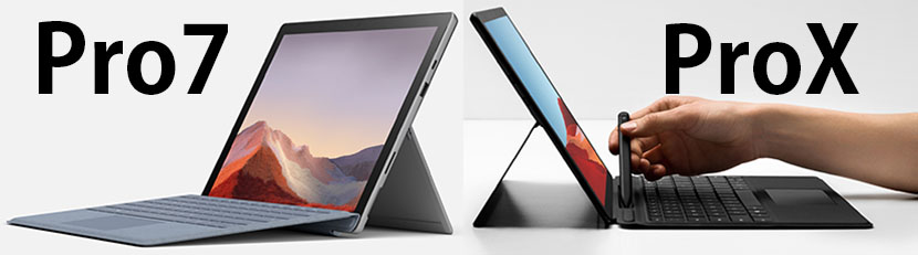 Surface Pro 7 and Pro X Design