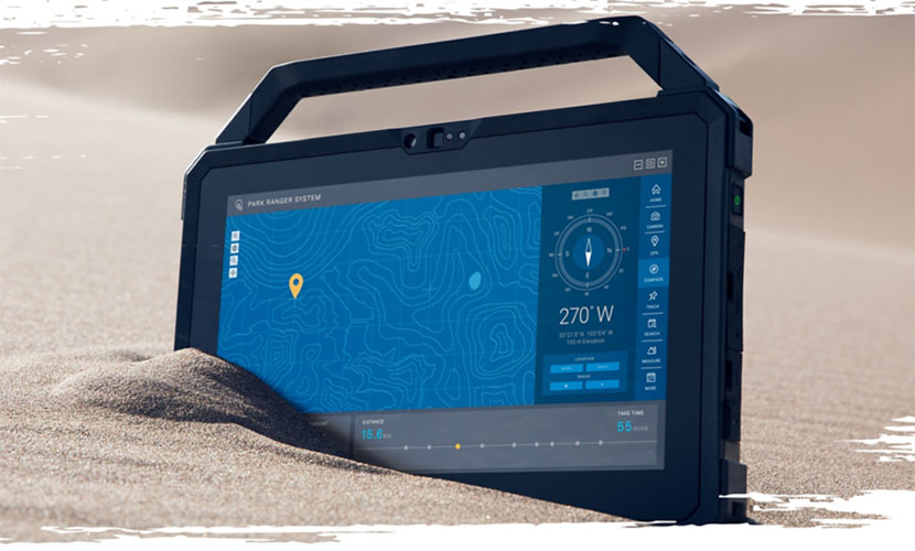 Design of Dell Latitude 7220 Rugged Extreme