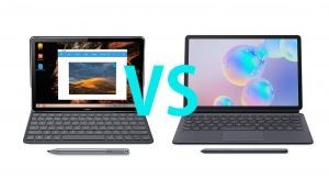 MediaPad M6 vs Galaxy Tab S6