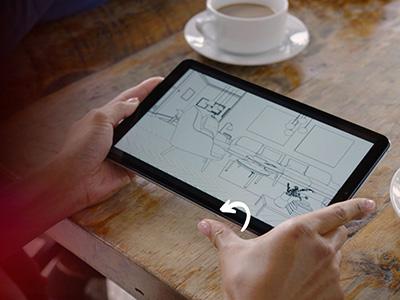 LG G Pad 5 Fingerprint Sensor