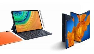 Huawei MatePad Pro 5G and Mate Xs