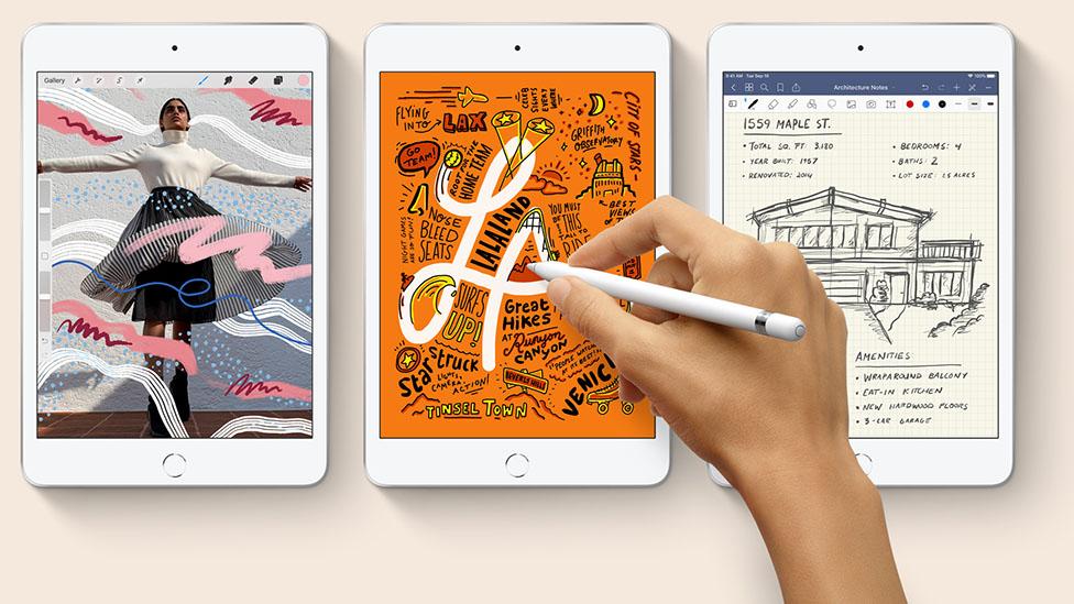 apple ipad mini 5 with apple pencil