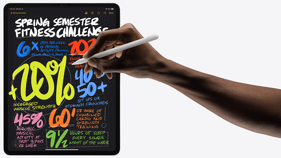 apple ipad pro 2020 with apple pencil
