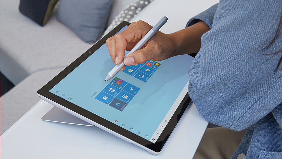 microsoft surface pro 7 with surface pen