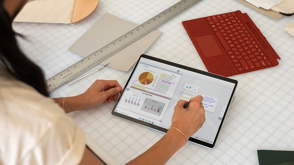 microsoft surface pro x with surface pen
