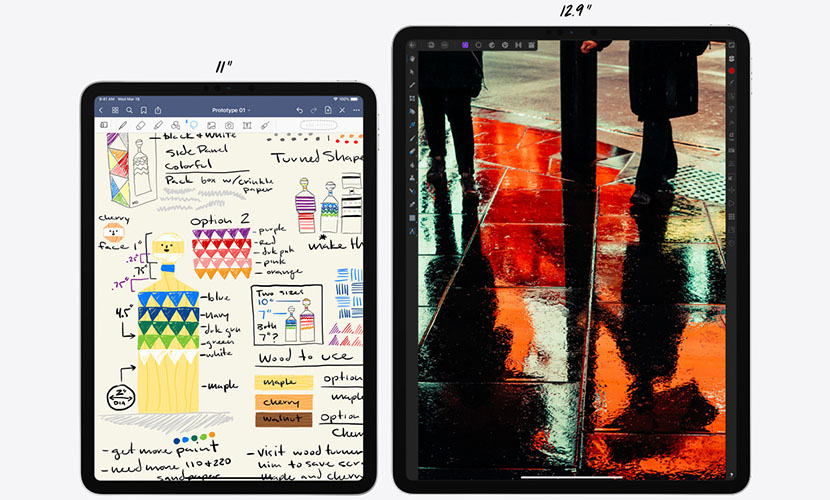 11-inch and 12.9-inch iPad Pro 2020