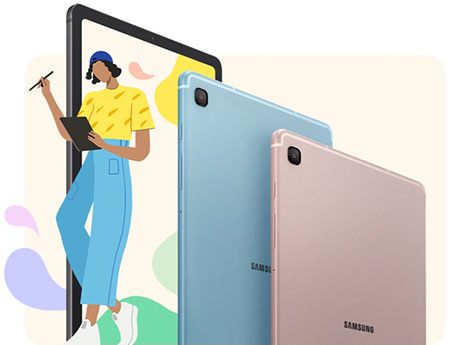 Design of Samsung Galaxy Tab S6 Lite