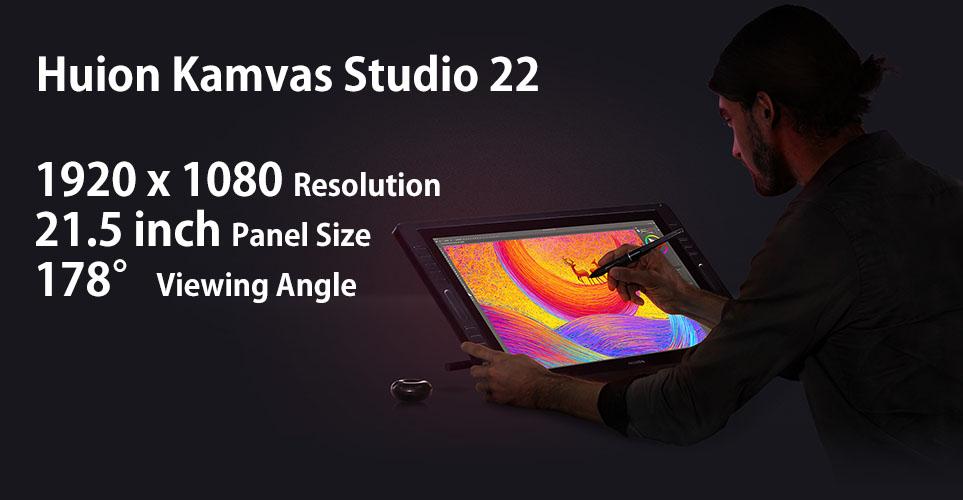 Display of Kamvas Studio 22