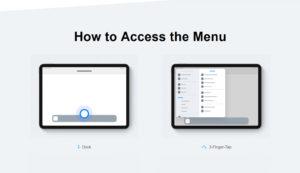 iPadOS Main Menu Concept by Alexander Käßner