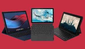 Lenovo Chromebook Duet vs 10e vs Pixel Slate