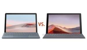 Microsoft Surface Go 2 vs Surface Pro 7
