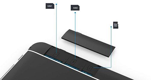 Wecool Tablet SIM Slots