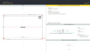 Samsung SM-T505 Diagram FCC ID