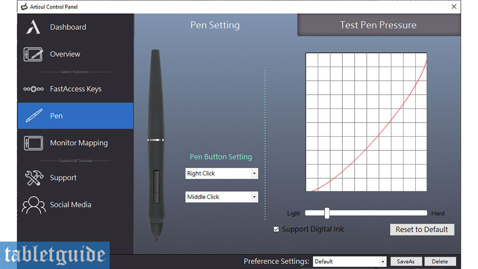 Artisul M0610 Pro Control Panel Pen
