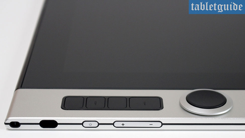 XP-Pen Innovator 16 Ports and Buttons