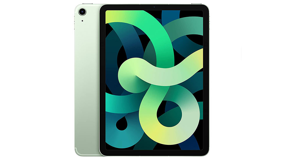 4th generation apple ipad air green