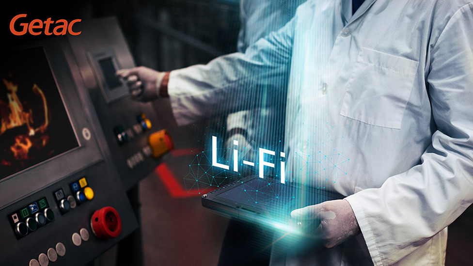 getac ux10 to be integrated with lifi technology