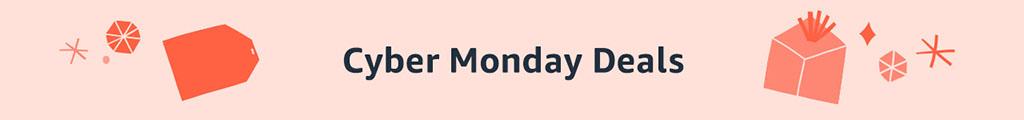 Amazon Cyber Monday 2020 Banner