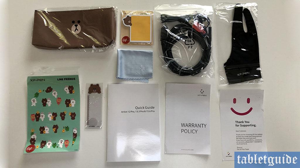 xp-pen artist 12 pro accessories