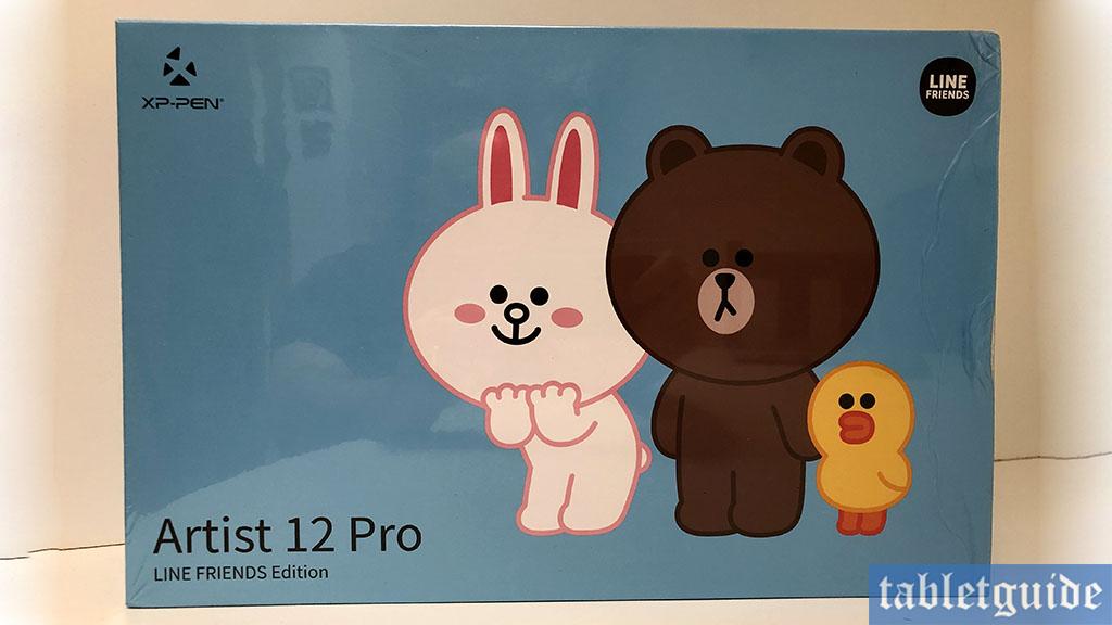 xp-pen artist 12 pro line friends edition box