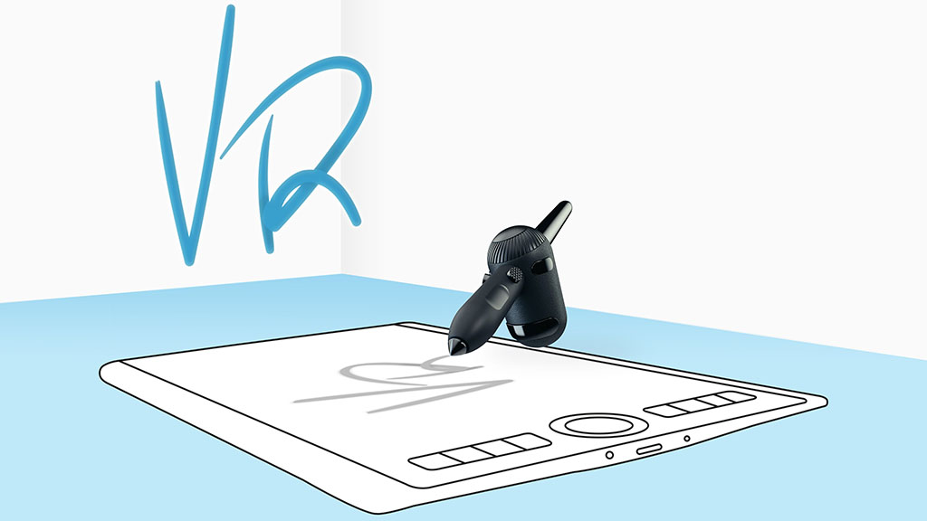 wacom vr pen tablet support