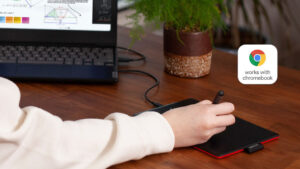 one by wacom is now works with chromebook certified