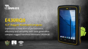 winmate launches e430rq8 rugged tablet