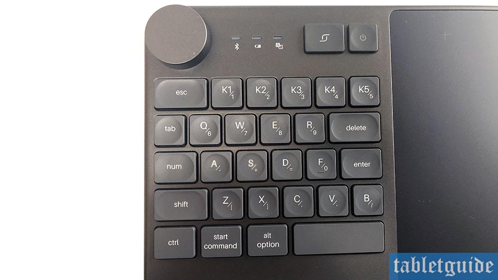 huion inspiroy keydial kd200 keyboard