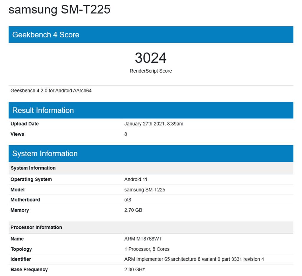 samsung sm-t225 geekbench