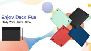 xp-pen launches new deco fun tablets