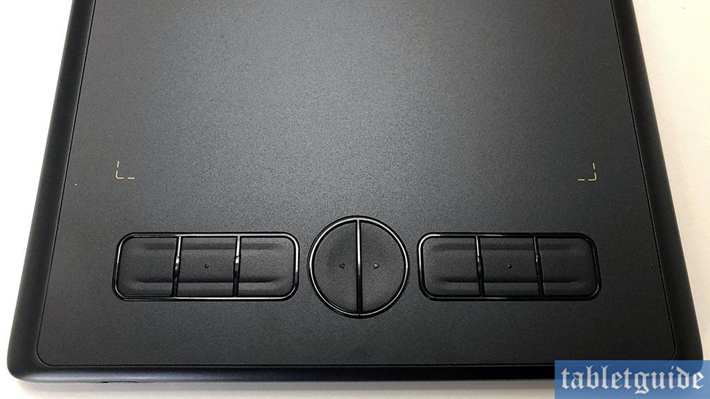 huion h580x press keys