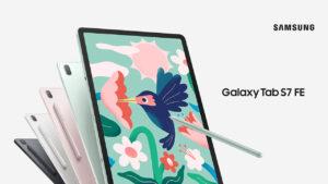 samsung launches galaxy tab s7 fe