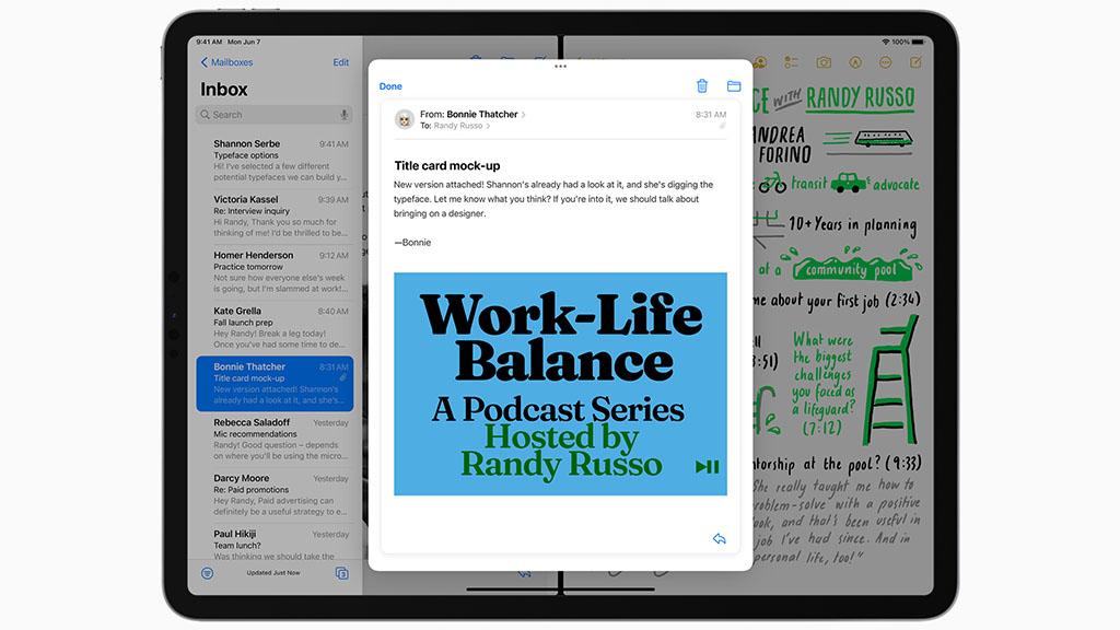 ipados 15 mail notes multitasking splitview
