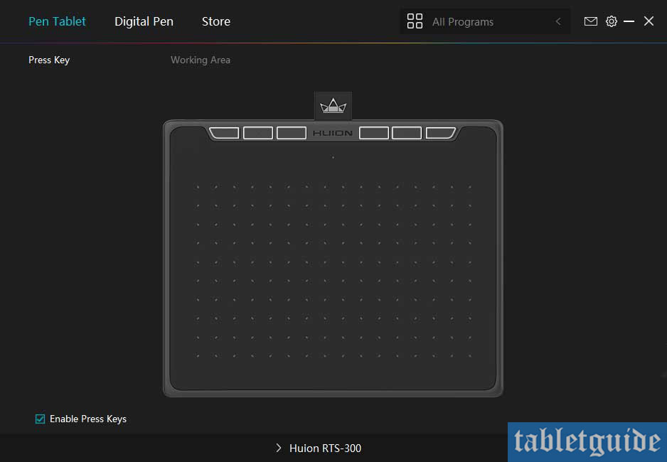 huion rts300 drivers tablet