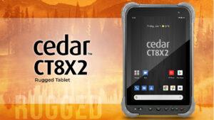 juniper systems launches cedar ct8x2