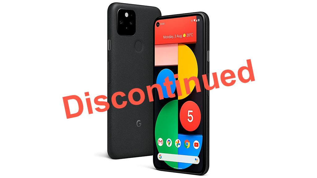 google pixel 5 discontinued